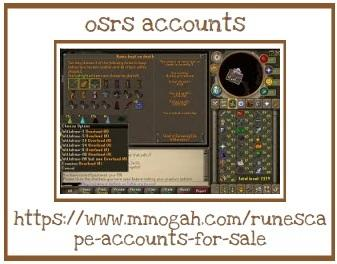Finest Details About Osrs Accounts