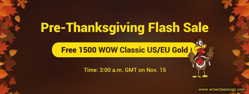 1500 Free cheap but safe gold wow classic for you to Enjoy WOW Classic Phase 2 Nov.15