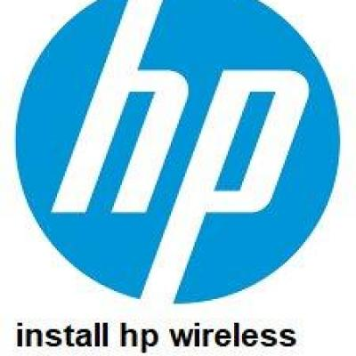 install hp  wireless assistant
